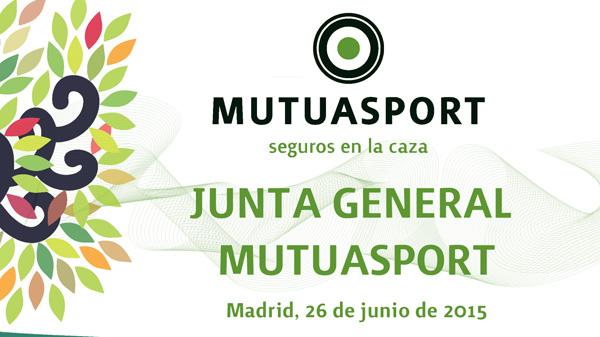 Convocatoria Junta General Ordinaria y Extraordinaria Mutuasport 2015