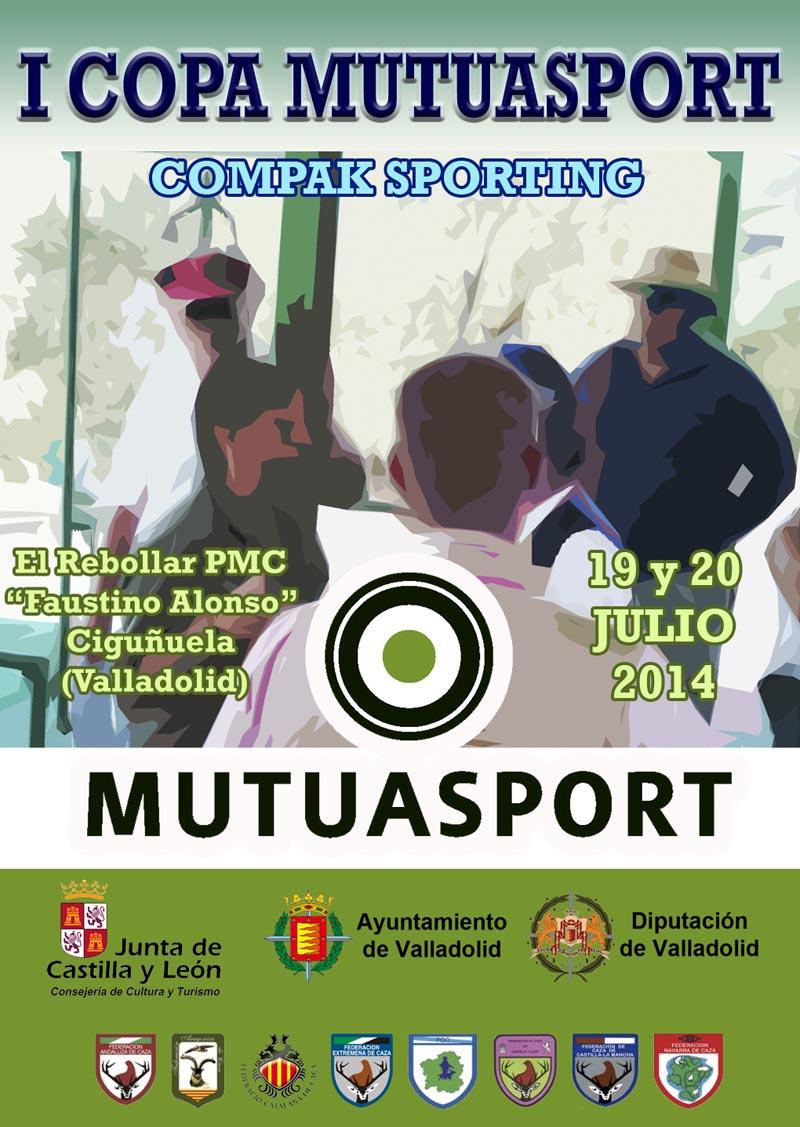 El sábado 19 se disputa la primera Copa Mutuasport de Compak Sporting