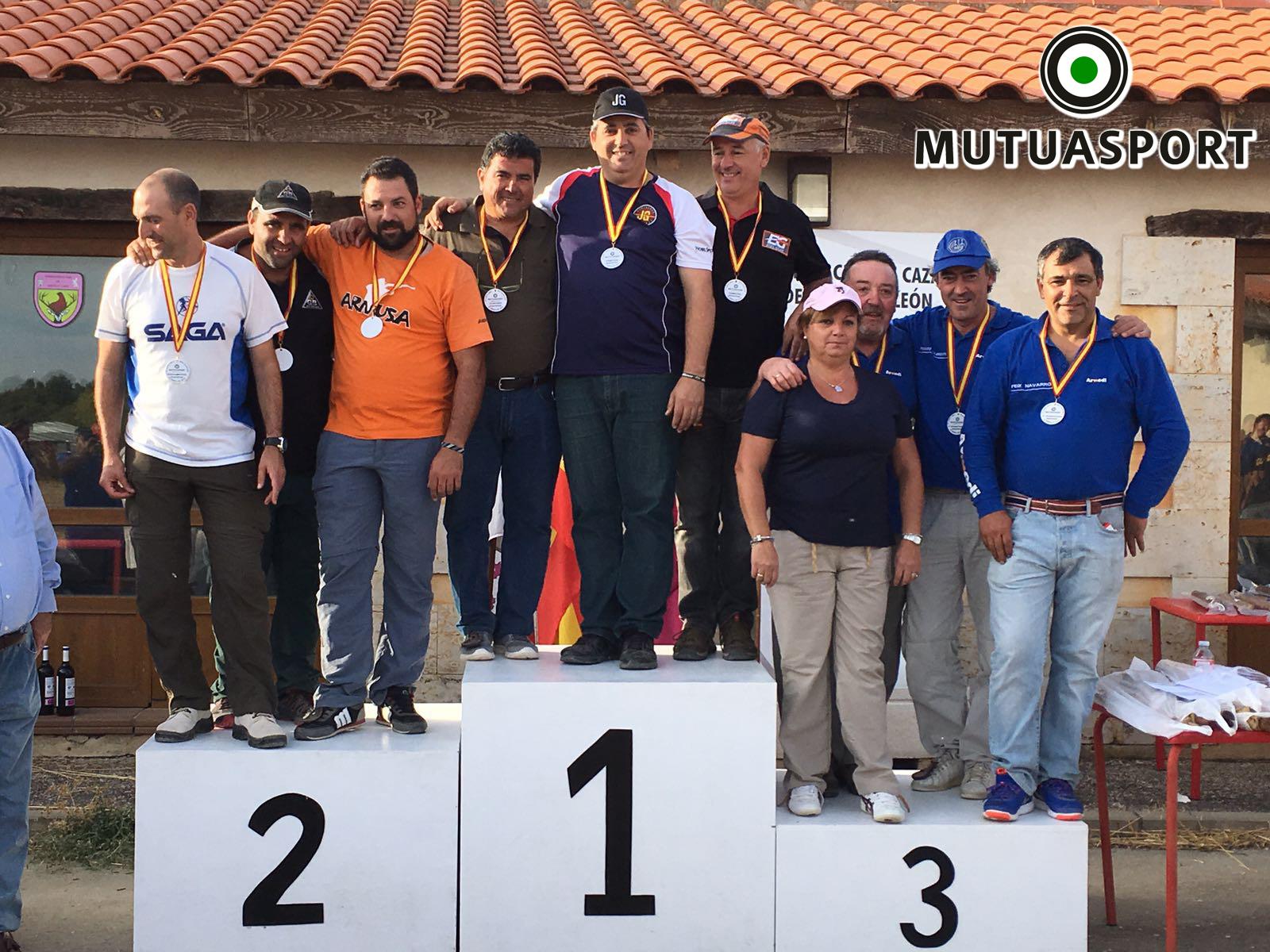 El tirador Diego Martínez, campeón de la III Copa Mutuasport de Recorridos de Caza