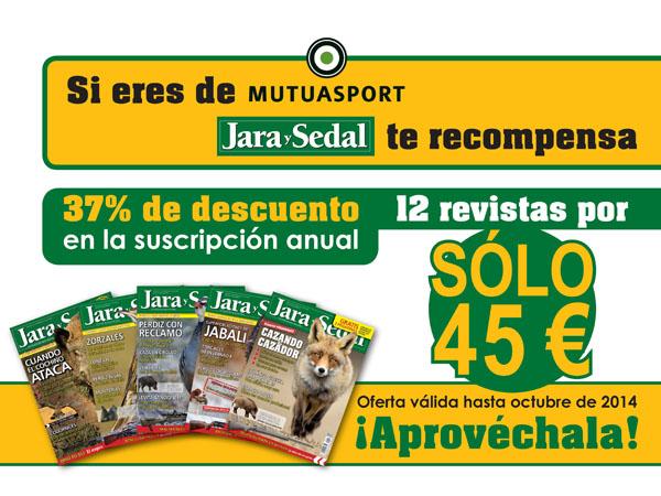 Jara y Sedal recompensa a los asegurados de Mutuasport con descuentos en suscripciones