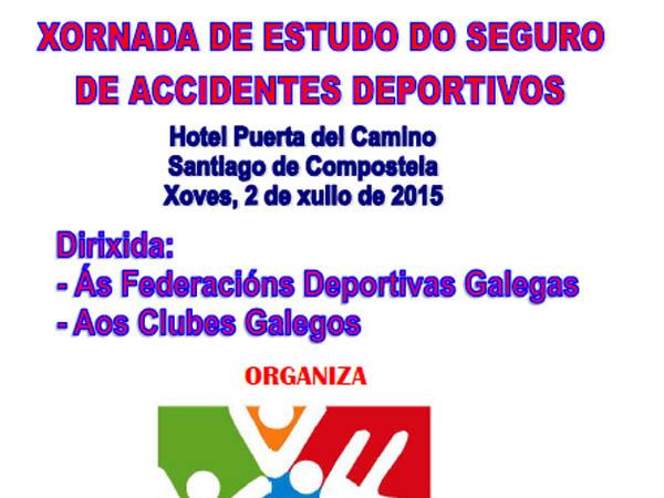 Javier Vergés participa en la jornada sobre el estudio de seguro de accidentes deportivos