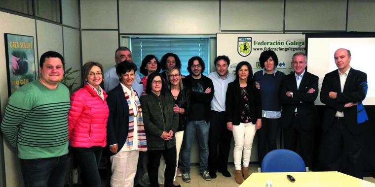 Jornada formativa en Galicia
