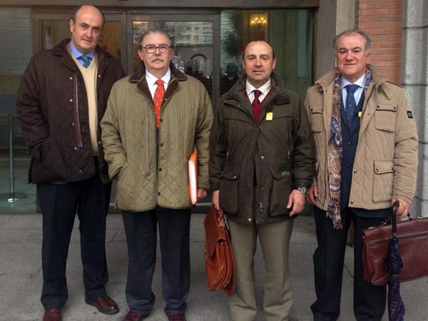 La AER expone ante el Ministerio de Empleo y Seguridad Social las quejas de los rehaleros