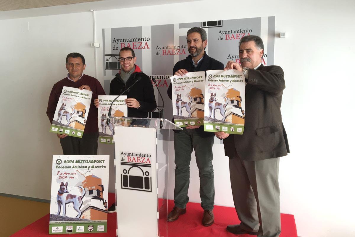 La I.Copa Mutuasport de Podenco Andaluz y Maneto contará con 36 participantes y 67 perros