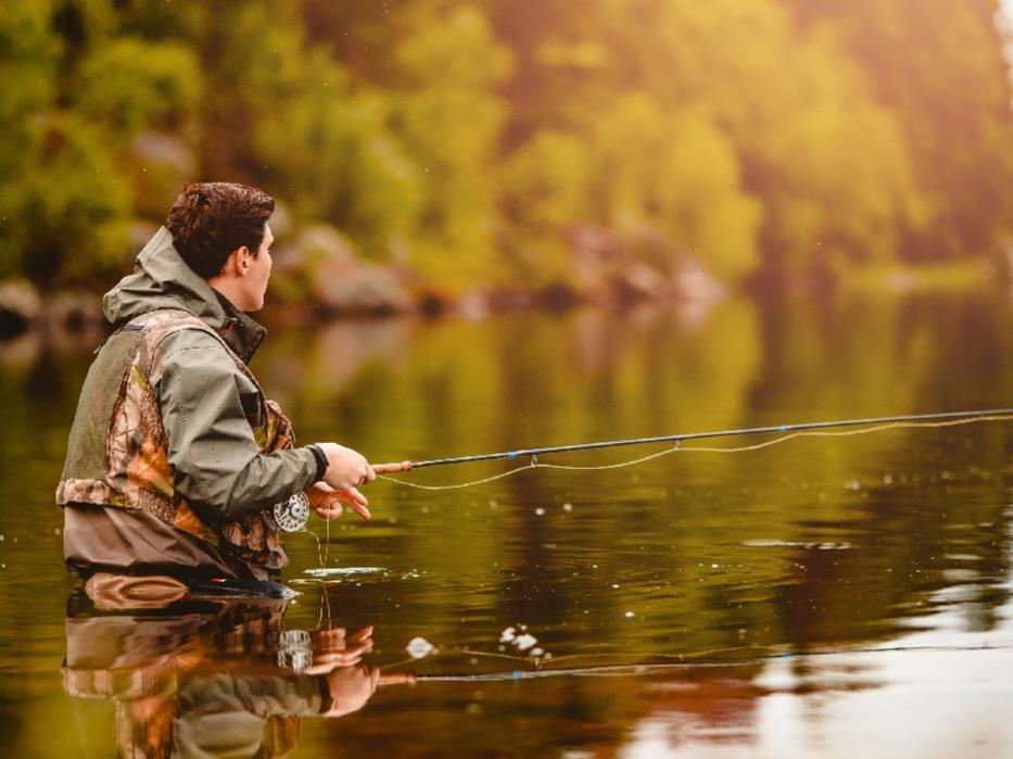 La seguridad en la pesca deportiva en aguas continentales