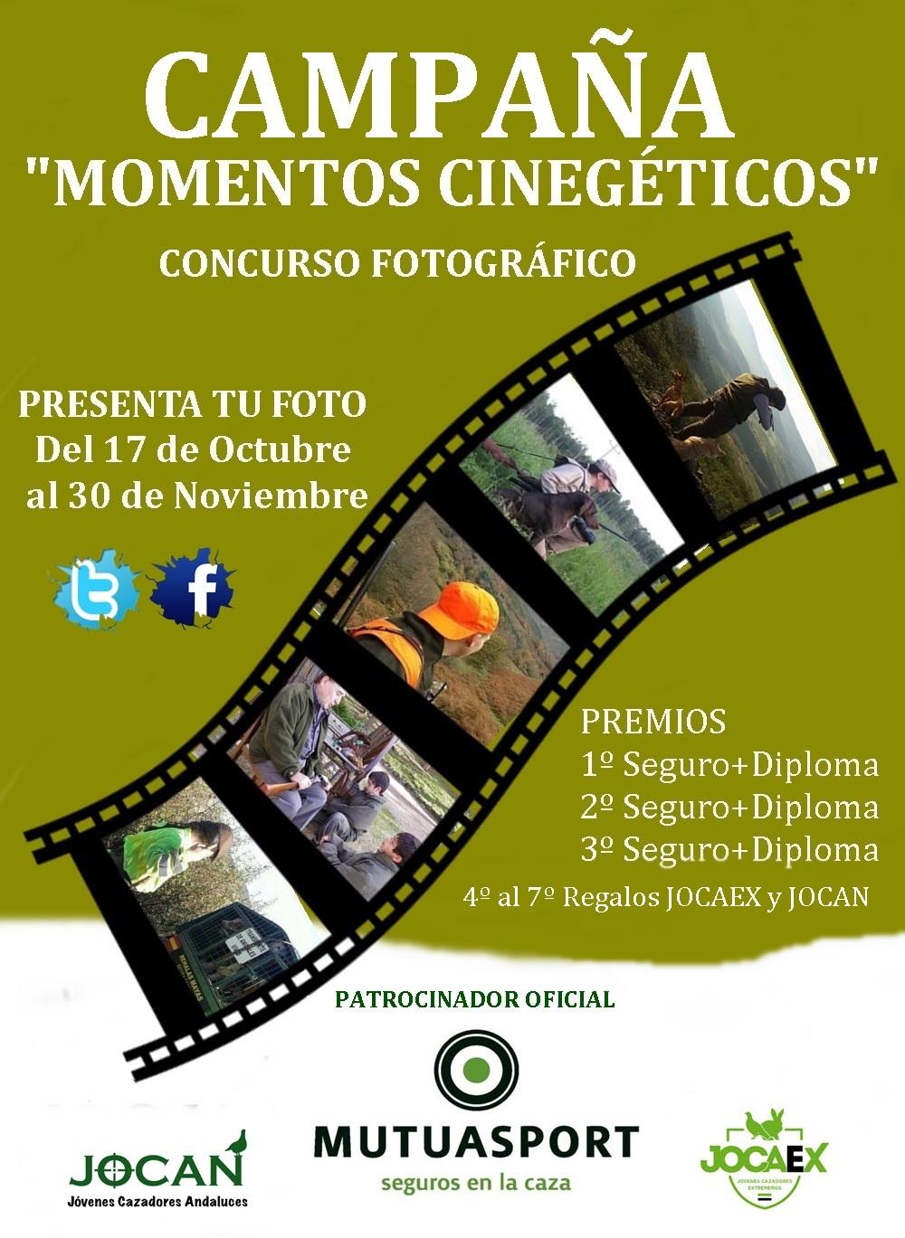 MUTUASPORT colabora en el concurso de fotografía Momentos Cinegéticos