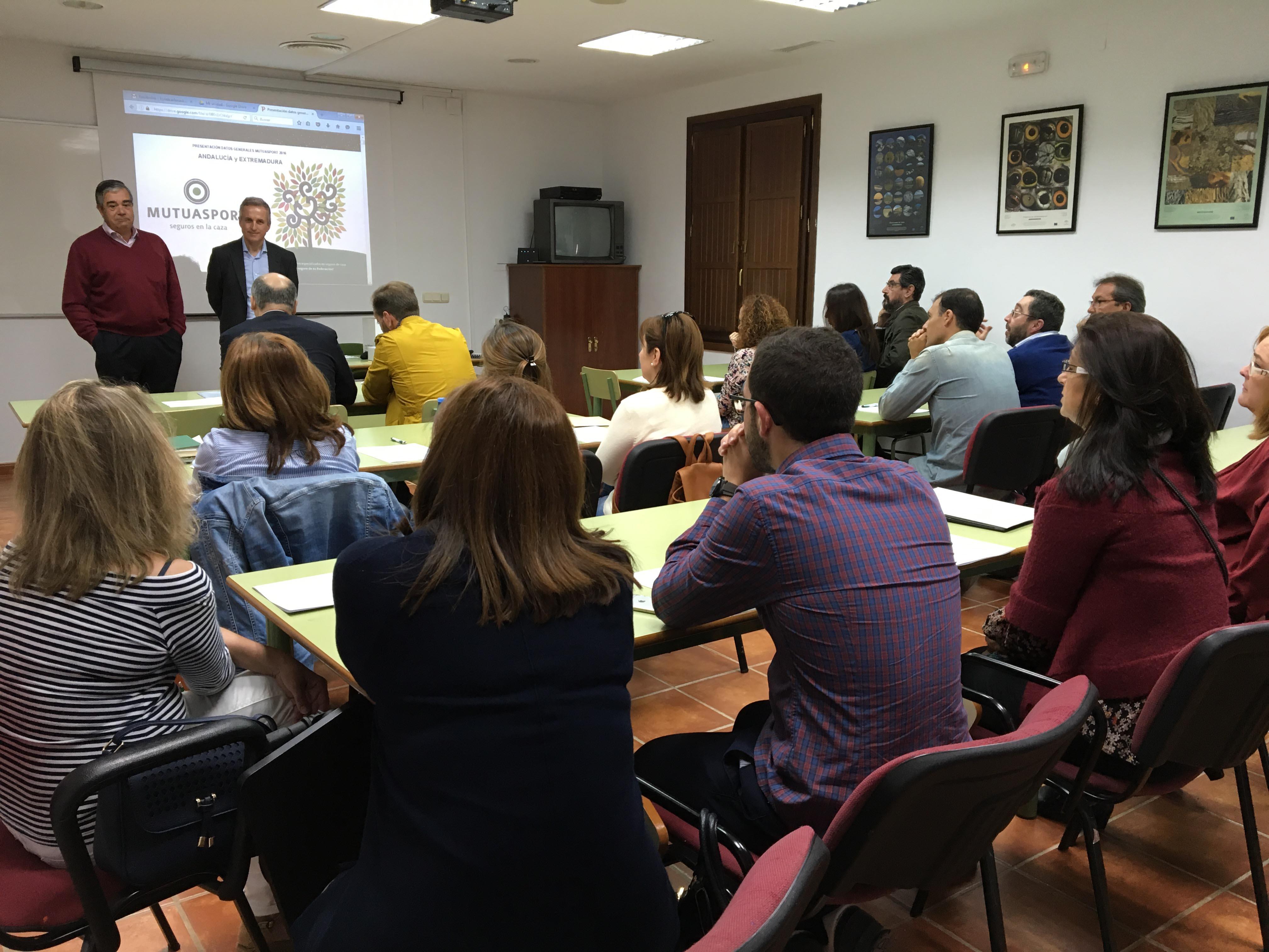 MUTUASPORT continúa con las jornadas de formación para las Federaciones de Caza en Andalucía y Extremadura