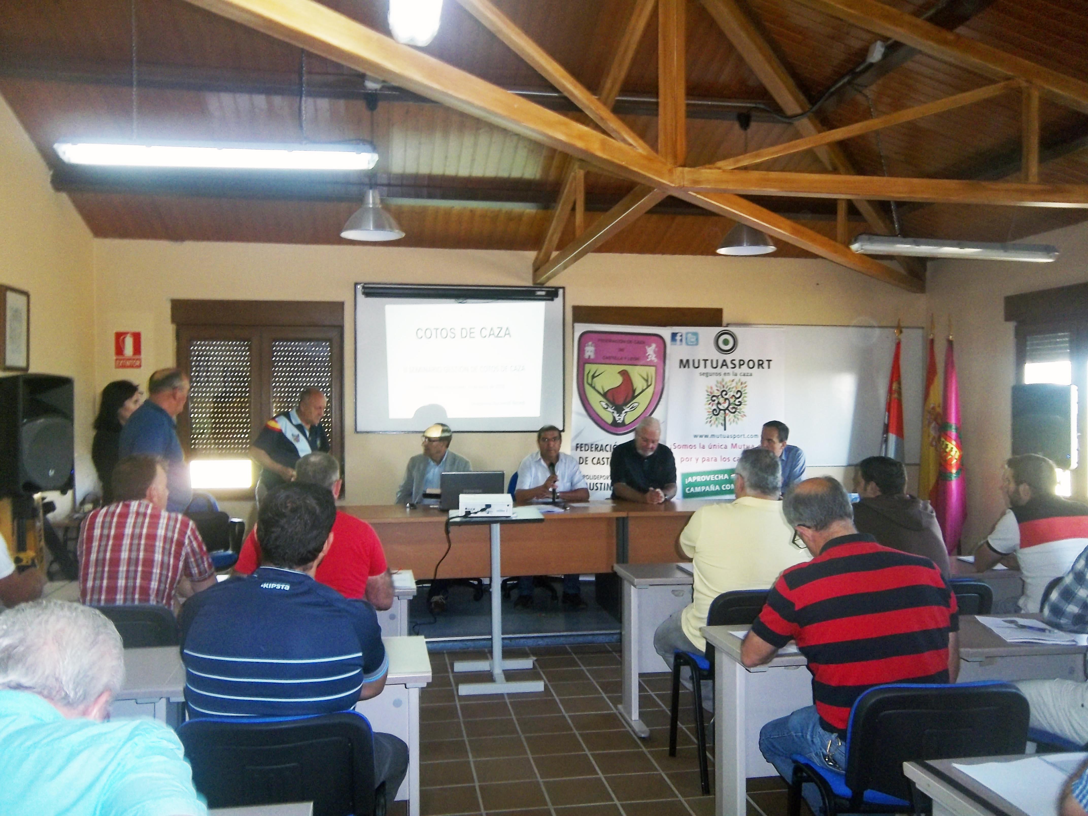 Mutuasport participa en el II Seminario de Gestión de Cotos en Valladolid
