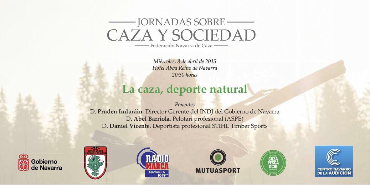 Mutuasport patrocina las jornadas sobre caza y sociedad de la Federación Navarra
