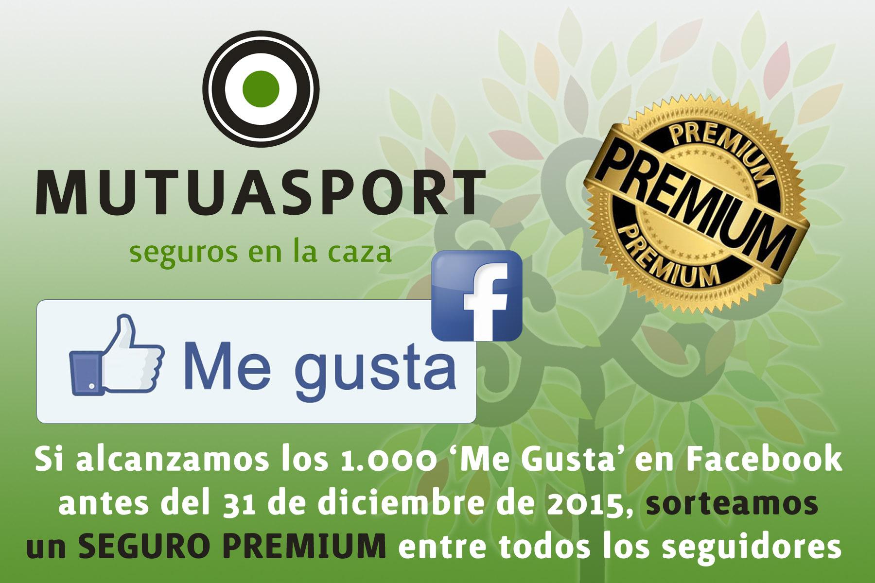 MUTUASPORT sortea un seguro Premium entre sus seguidores en Facebook