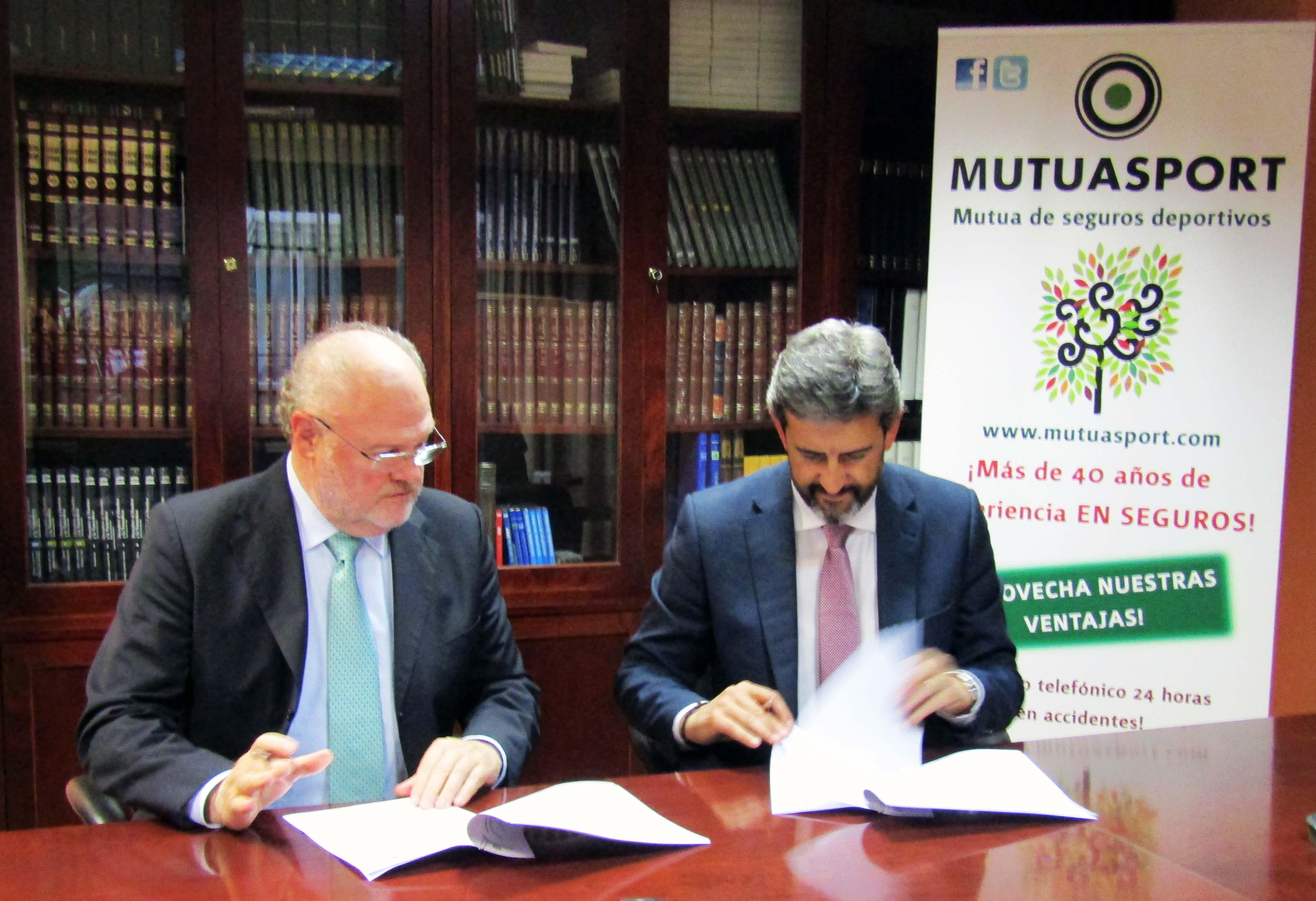 Mutuasport y el Grupo HNA firman un acuerdo de colaboración