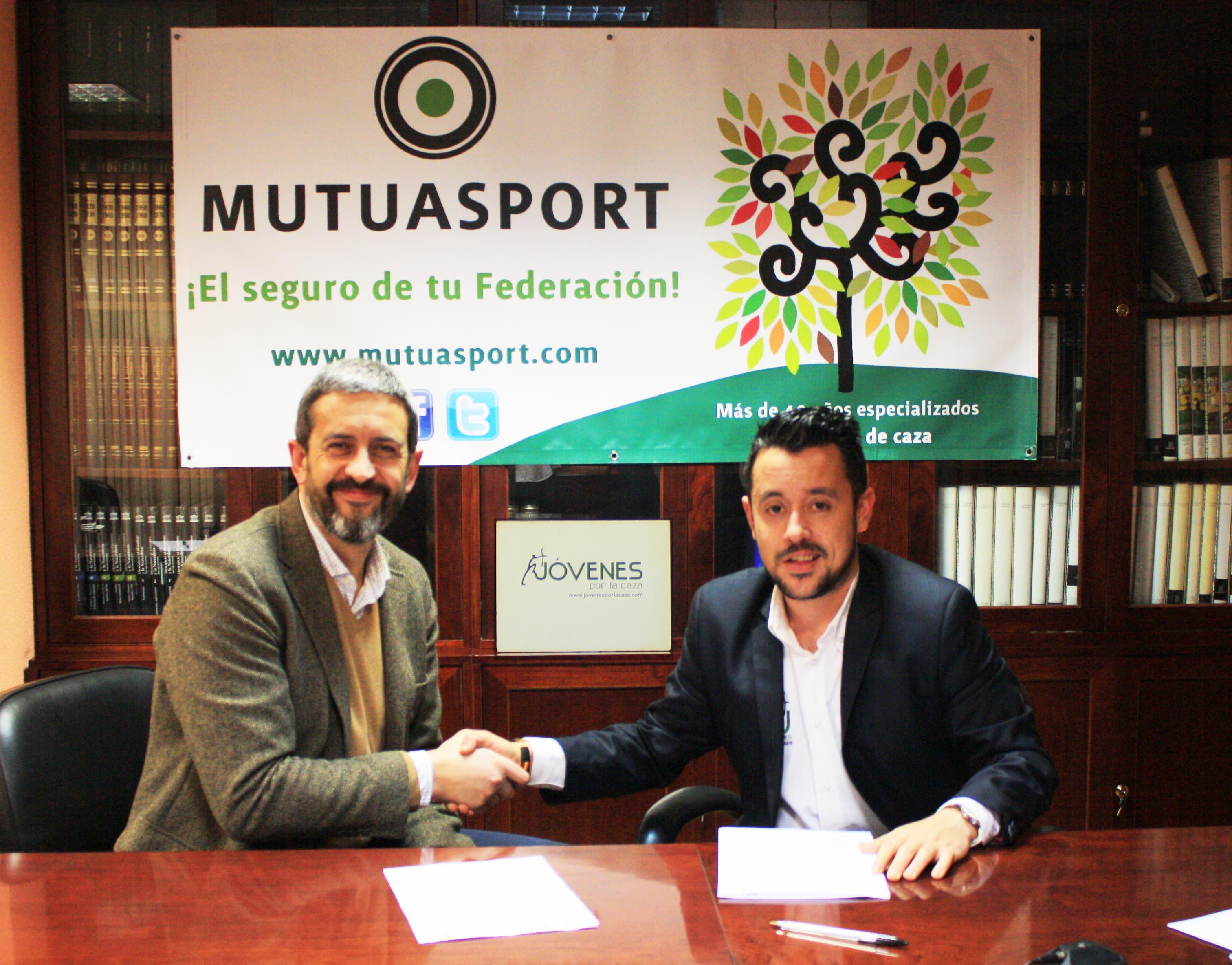 Mutuasport y Jóvenes por la Caza firman un acuerdo de colaboración