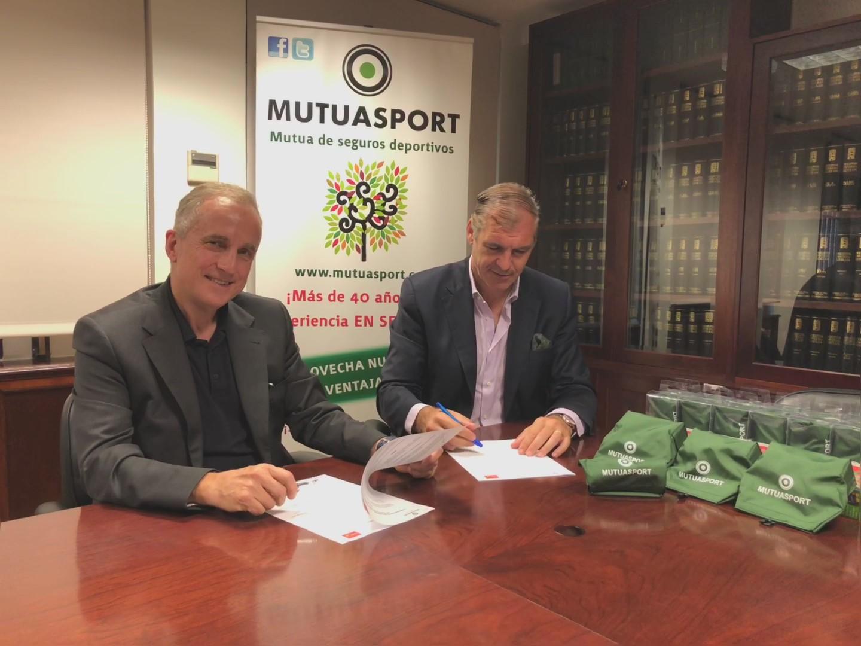 Mutuasport y Recovain firman un convenio en favor del Medio Ambiente