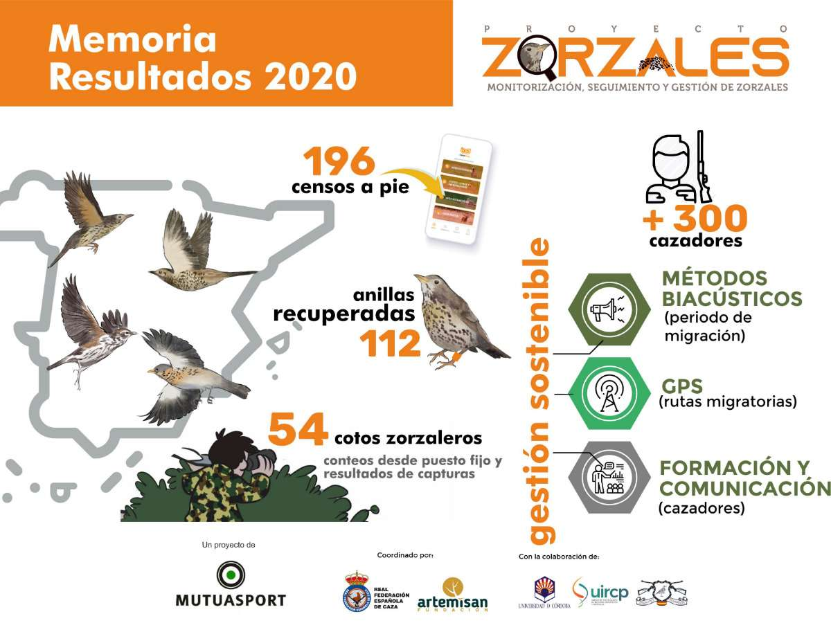 Proyecto Zorzales, caza y ciencia unidas por la conservación de las aves migratorias
