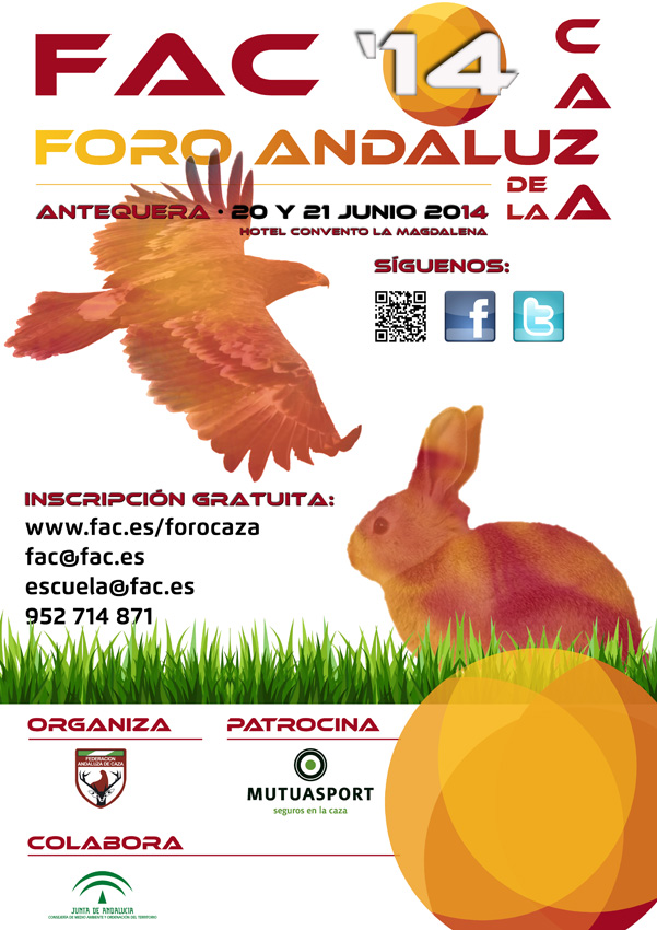 Publicado el programa del I Foro Andaluz de la Caza, evento patrocinado por Mutuasport
