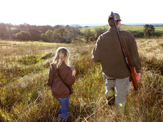 Seguridad en la caza con los más pequeños