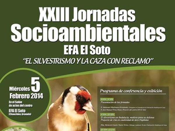 Silvestrismo y Perdiz con Reclamo centrarán una nueva jornada organizada por EFA El Soto
